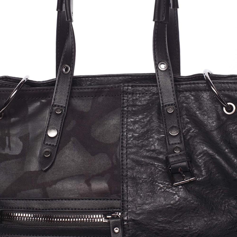 Nadčasová dámská kabelka do ruky černá - MARIA C Jemma - Kabea.cz d8e5f39ec6