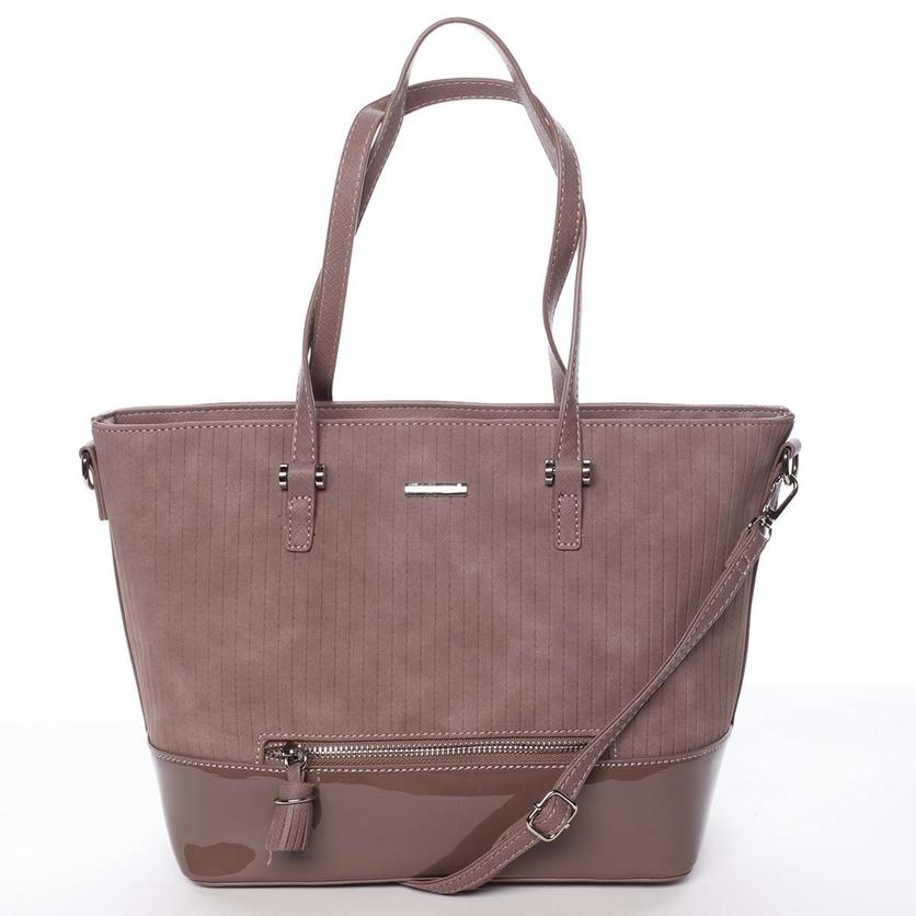 Originální dámská tmavě růžová kabelka - David Jones Breanna 3d2d964e68