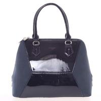 Nadčasová dámská tmavě modrá kabelka do ruky - David Jones Zion 5534d7423d4