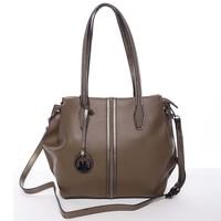 Stylová dámská kabelka přes rameno hnědá - MARIA C Veronica af36f3985ec