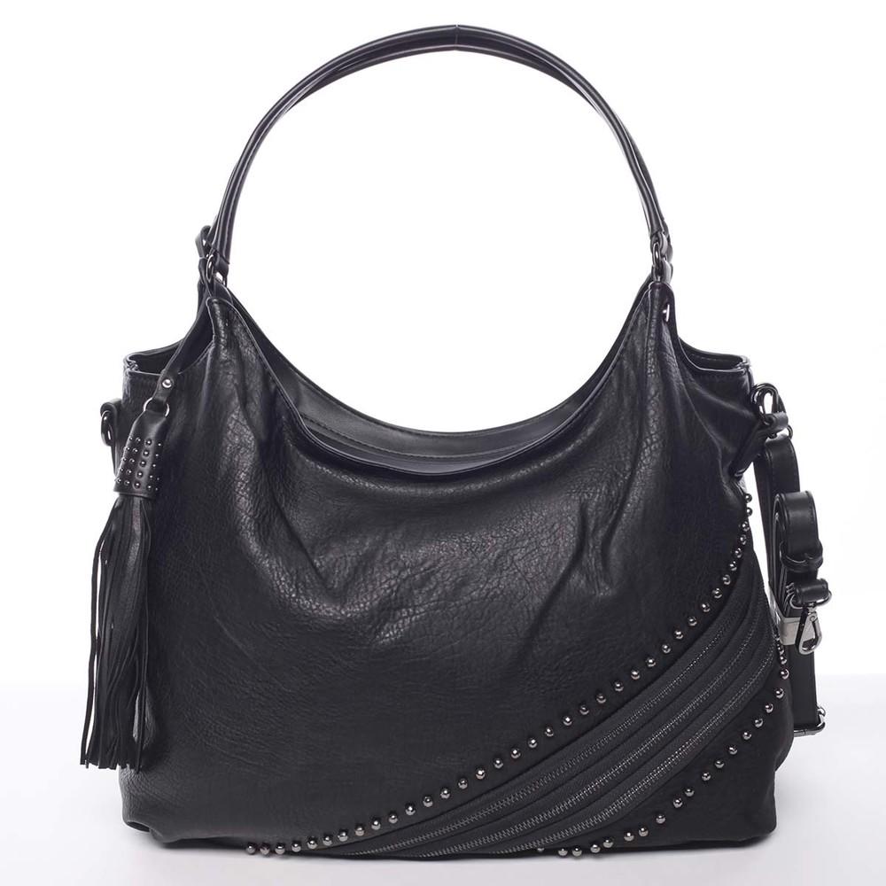 Originální dámská kabelka přes rameno černá - MARIA C Xanthia - Kabea.cz c91f5240ae