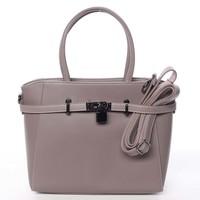 198ad53853 Luxusní stylová menší tmavá starorůžová kabelka do ruky - David Jones Haless