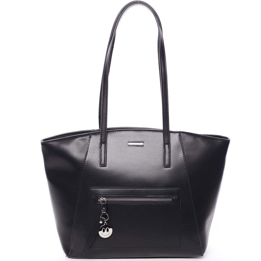 Moderní dámská kabelka přes rameno černá - David Jones Adria - Kabea.cz 657b6906c0