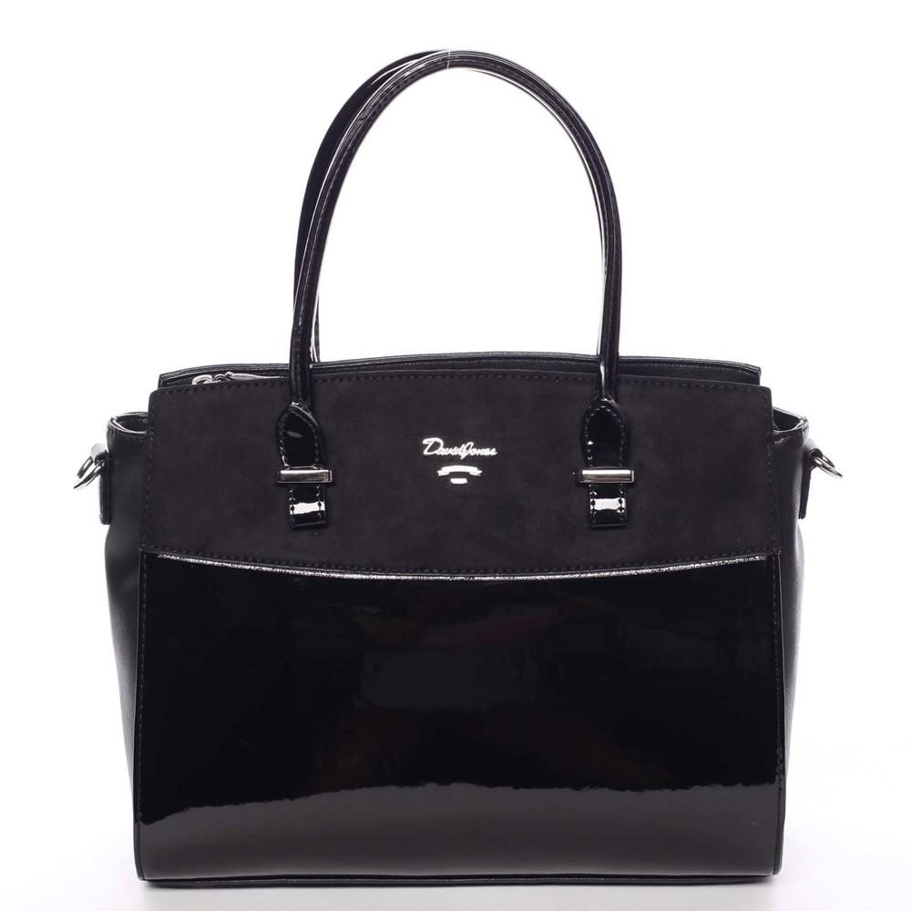 f278d07a1d Nadčasová středně velká dámská černá kabelka - David Jones Leonelle ...