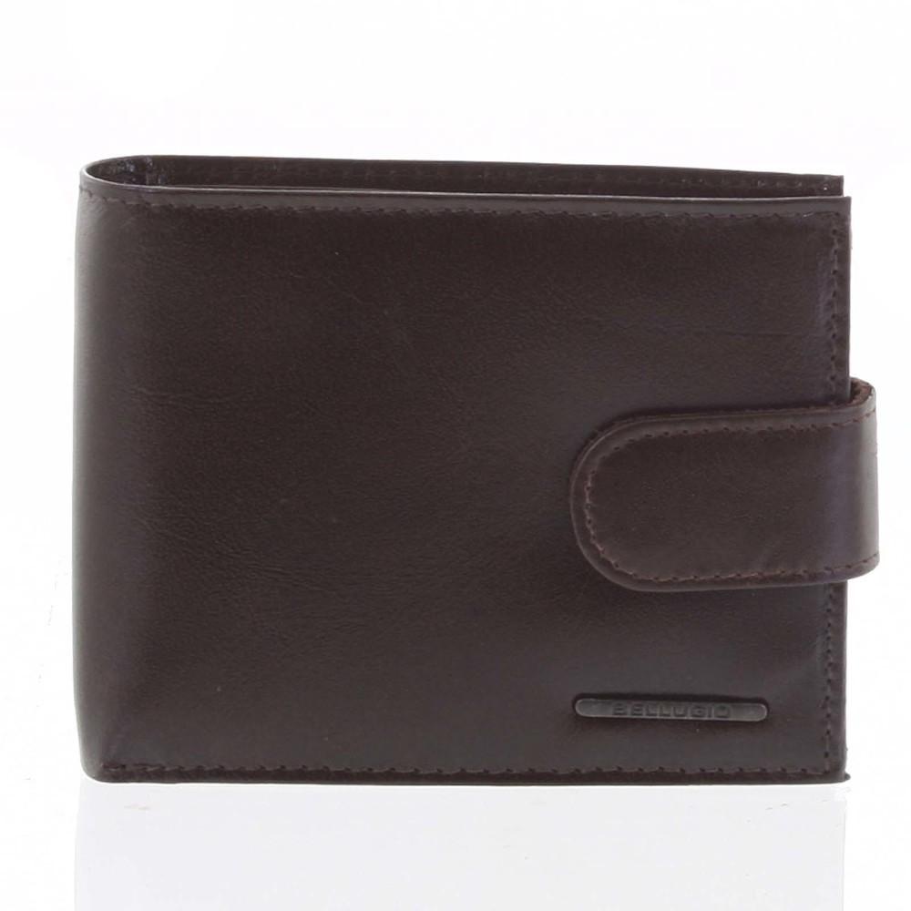 Pánská kožená peněženka hnědá - Bellugio Caessar - Kabea.cz d15bc930d05
