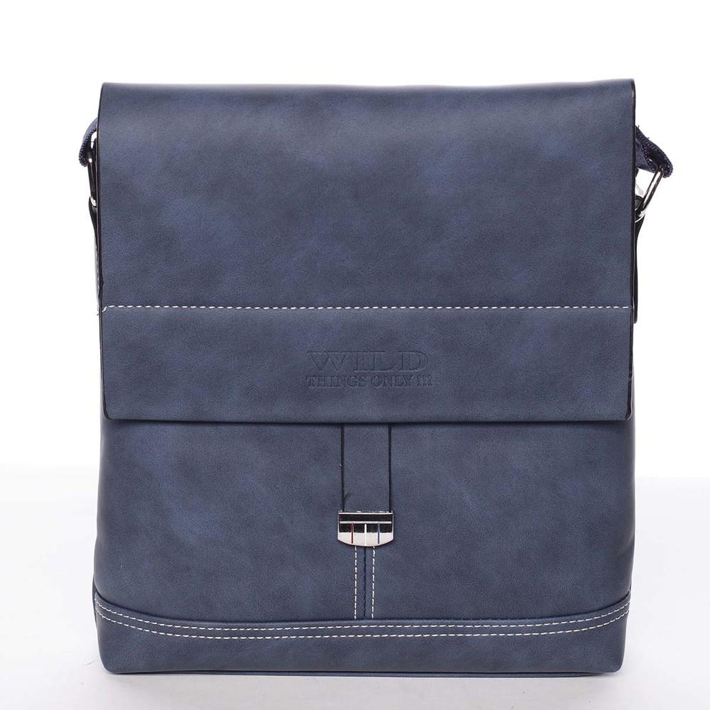 969e720930 Modrá originální pánská taška přes rameno - WILD Adad - Kabea.cz