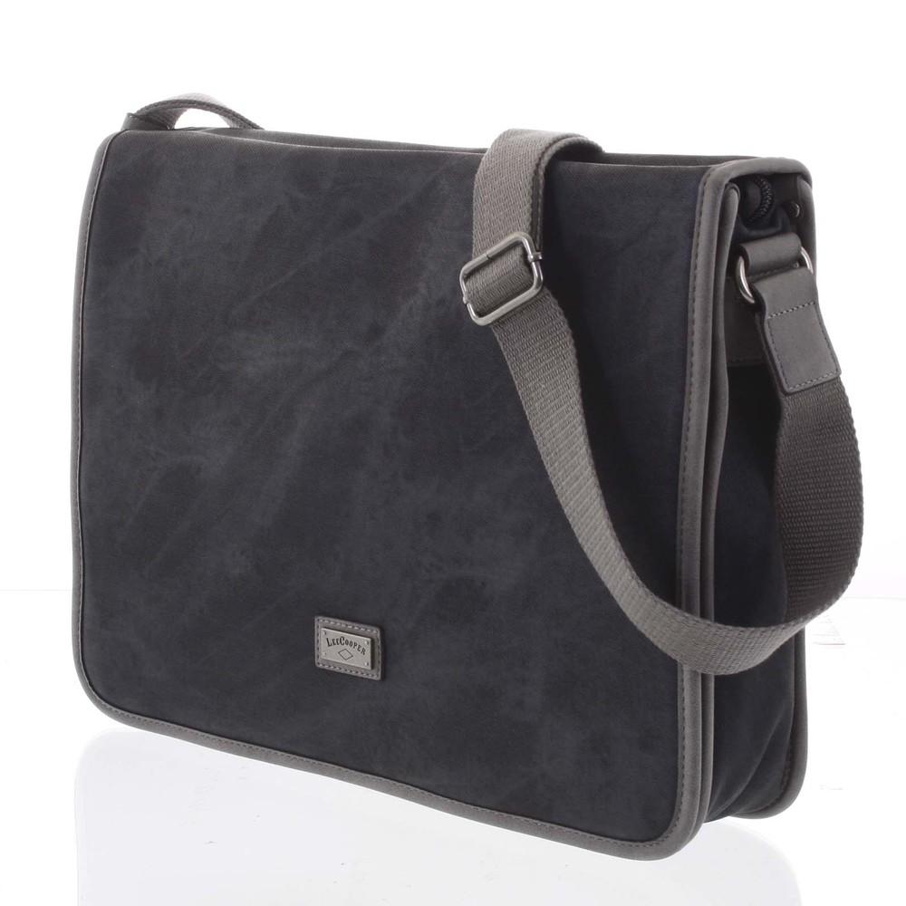 ... Velká černá moderní taška na notebook - Lee Cooper Aesculapius ... 1571f89eea