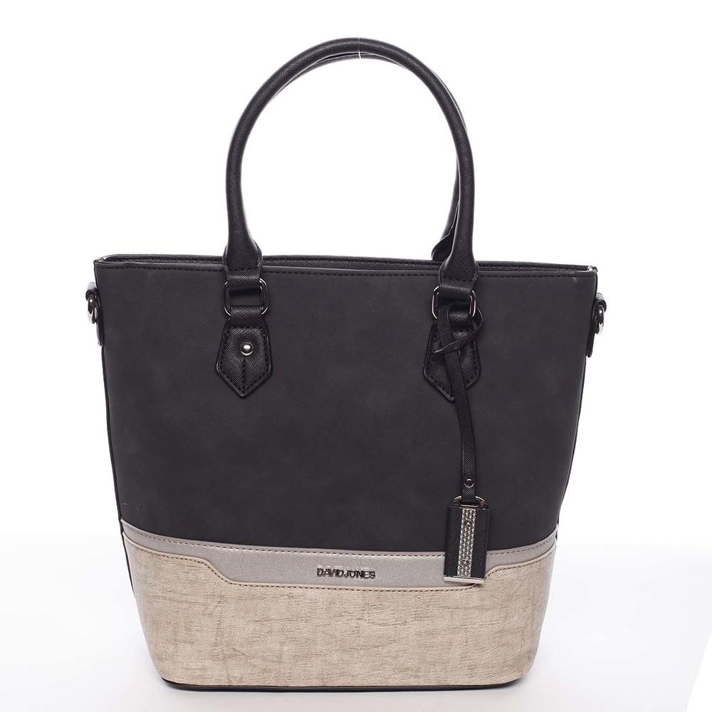 3d1cccd0fd Elegantní a módní černá dámská kabelka do ruky - David Jones Angely ...