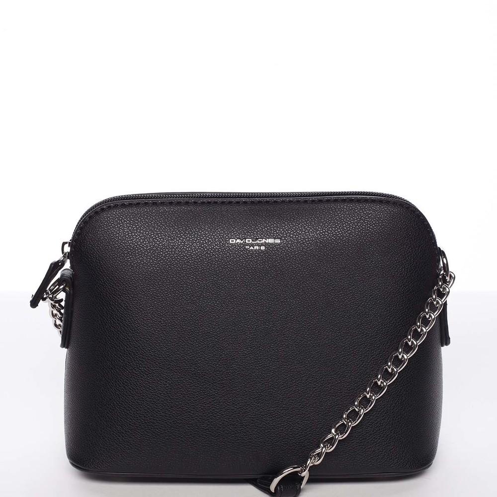 365a098999 Osobitá a elegantní dámská černá crossbody kabelka - David Jones Milagros  ...