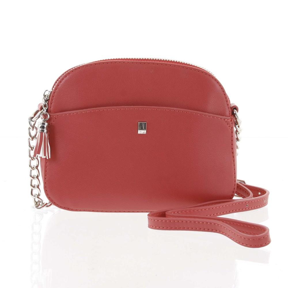 4a612dacfb Dámská tmavě růžová crossbody mini kabelka - David Jones Shirley ...