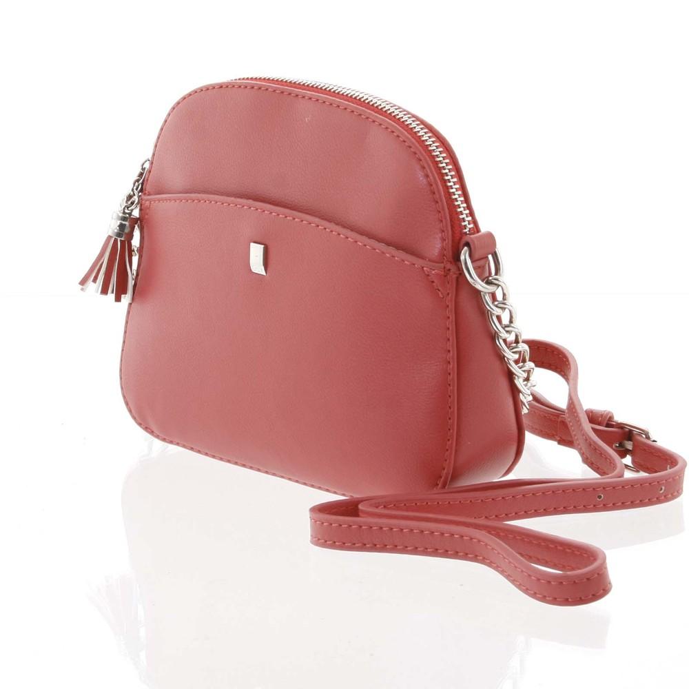 03dd7abc48 ... Dámská tmavě růžová crossbody mini kabelka - David Jones Shirley ...