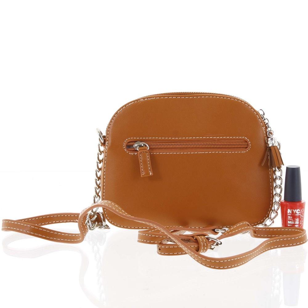 5c245e834e Dámská oranžová crossbody mini kabelka - David Jones Shirley - Kabea.cz