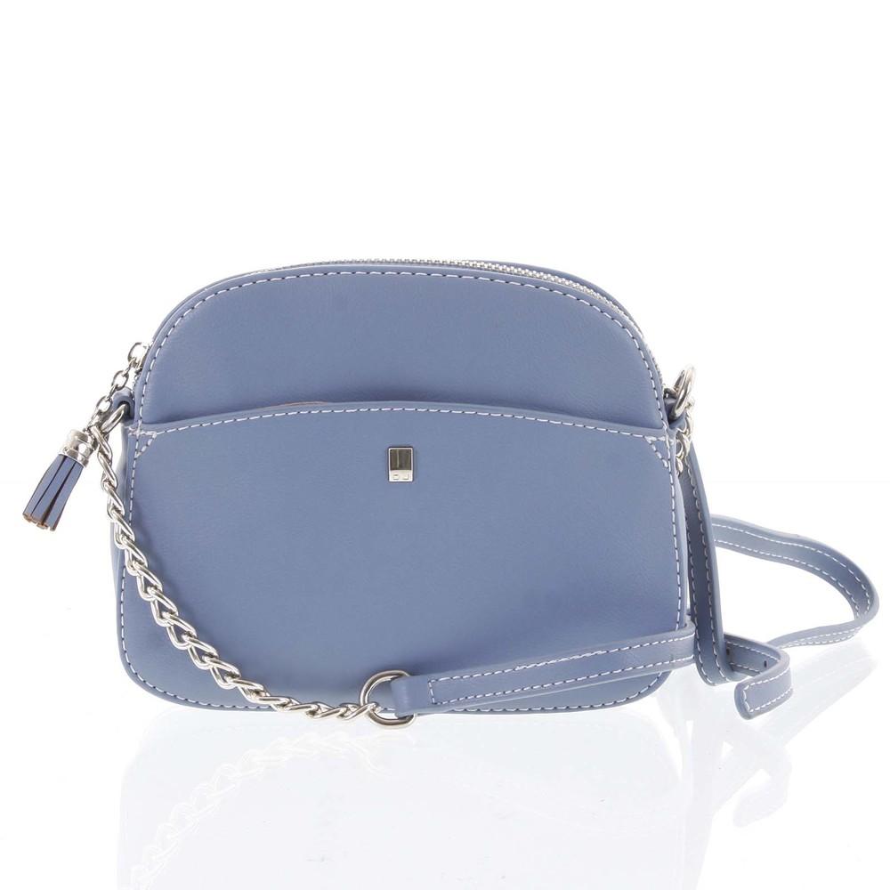 55f24524b1 Dámská světle modrá crossbody mini kabelka - David Jones Shirley ...